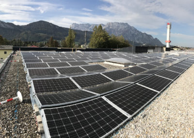 Sonnenkraftwerk Oberalm – Logistik Point