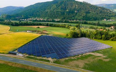 Solarthermie-Anlage Friesach eröffnet